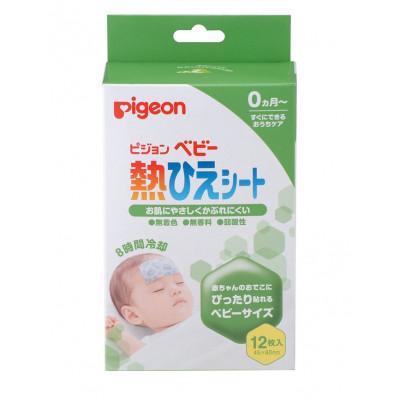 Японские пластыри с охлаждающим эффектом Pigeon