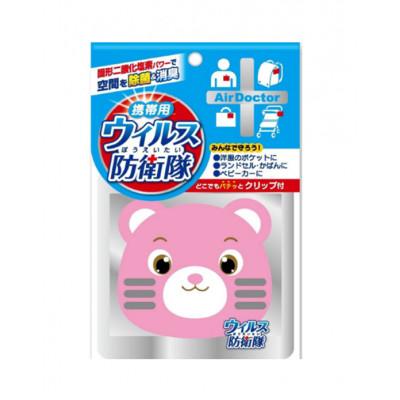 Японский портативный блокатор вирусов AIR DOCTOR мишка