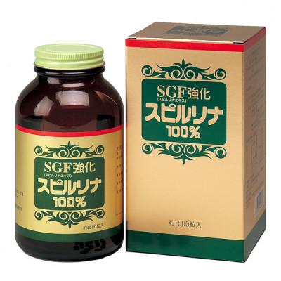 Японская усиленная спирулина Spirulina SGF Powder 100%