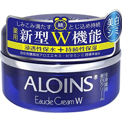 Японский глубоко увлажняющий крем с отбеливающим эффектом ALOINS Eaude Cream W
