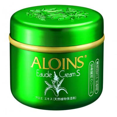 Японский лечебный крем с Алоэ для лица и тела ALOINS Eaude Cream S