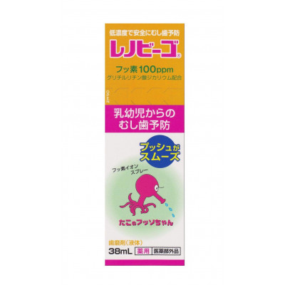 Японский спрей для профилактики возникновения и лечения кариеса Renovigo