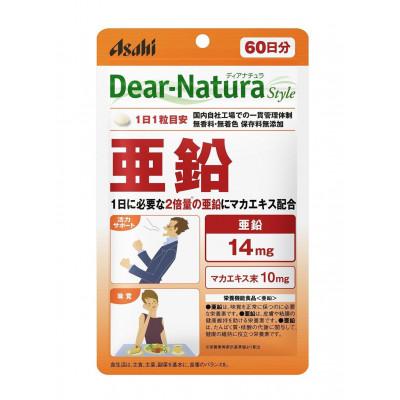 Японская биодобавка Asahi Dear-Natura Style Цинк