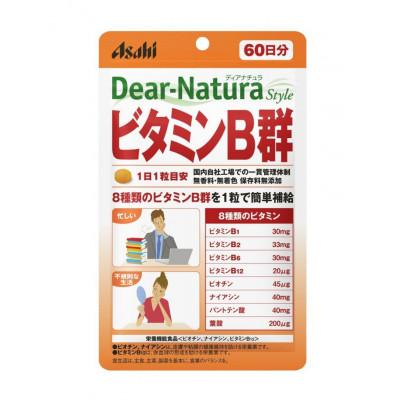 Японские витамины группы B Dear-Nature Asahi