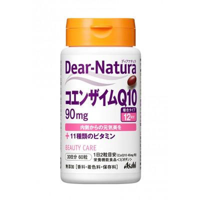 Японский комплекс витаминов и коэнзим Q10 Dear-Natura Asahi