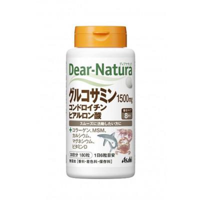 Японский глюкозамин, хондроитин, гиалуроновая кислота Dear-Natura Asahi