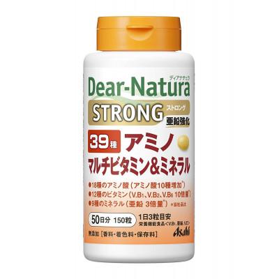 Японский комплекс витаминов и минералов Asahi Dear-Natura Strong