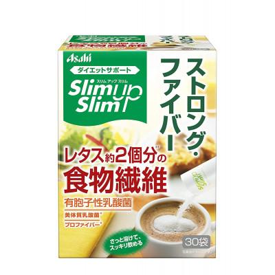 Японская диетическая клетчатка с молочнокислыми бактериями Asahi Slim Up Slim