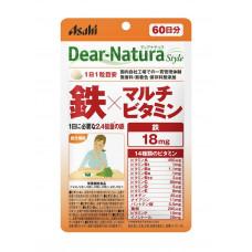 Железо и Поливитамины Dear-Natura Asahi