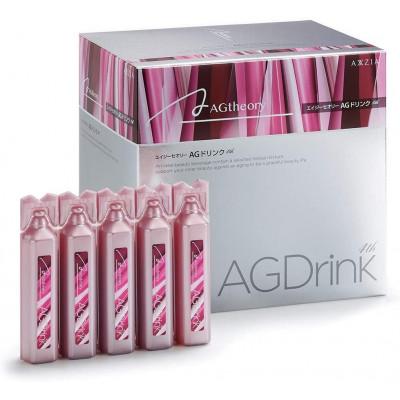 Японский питьевой обогащенный коллаген AG Drink Axxzia