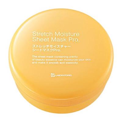 Японские увлажняющие лифтинг патчи Stretch Moisture Sheet Mask Pro BB Laboratories