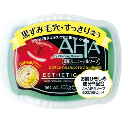 Японское мыло с эффектом пилинга BCL AHA ESTHETIC SOAP