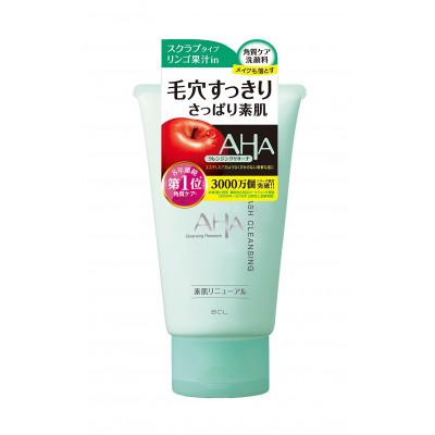 Японская пена-скраб для лица с AHA кислотами BCL AHA WASH CLEANSING