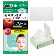 Салфетки для снятия макияжа с AHA кислотами BCL CLEANSING RESEARCH AHA