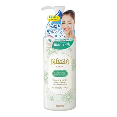 Японский лосьон для снятия макияжа для проблемной кожи Bifesta