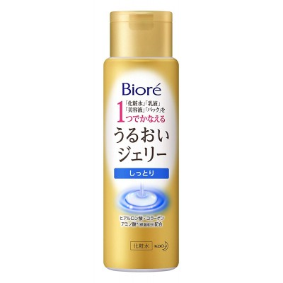 Японское увлажняющее желе 4 в 1 для ухода за лицом Biore