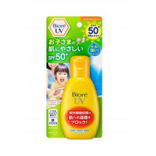 Санскрин для детей KAO Biore UV Nobinobi Kids Milk SPF 50+/ PA++++