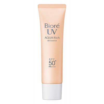 Японская солнцезащитная ВВ эссенция Biore UV Aqua Rich BB Essence SPF50+ PA++++
