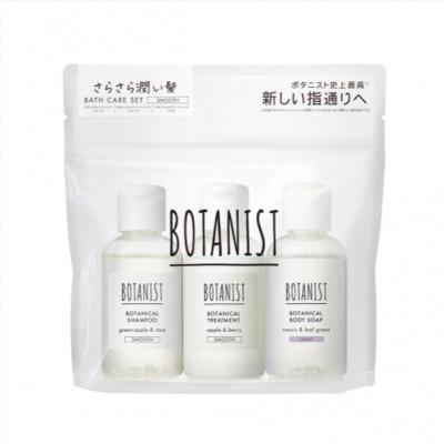 Дорожный набор BOTANIST Smooth - шампунь, кондиционер, гель для душа