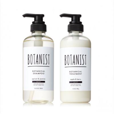 Японский увлажняющий шампунь и кондиционер для волос BOTANIST Moist