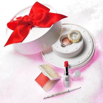 Японский подарочный набор декоративной косметики Cosme Decorte AQ MW Christmas coffret