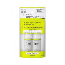 Пробный набор для ухода за проблемной и склонной к жирности кожей Curel