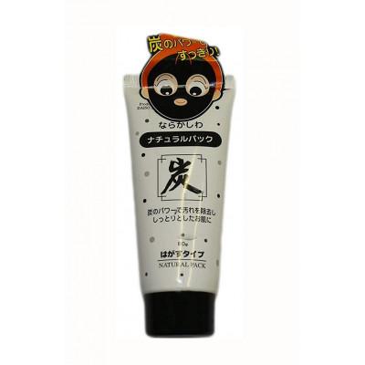 Японская маска Daiso Japan Natural Pack с углем