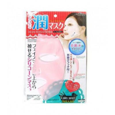 Японская силиконовая маска Daiso для увлажнения кожи