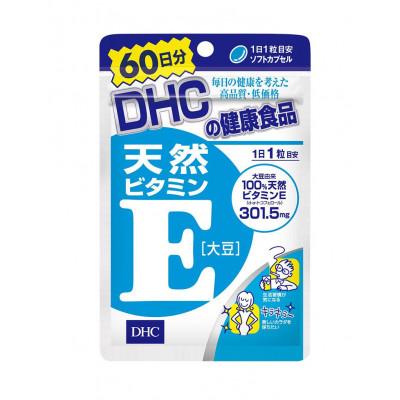 Японские витамины DHC - Витамин Е в капсулах Vitamin E