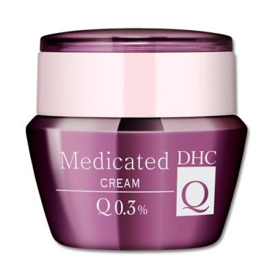 Японский насыщенный антивозрастной крем с коэнзимом Q10 Medicated Cream DHC