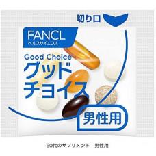 Витаминный комплекс для мужчин от 60 лет и старше Fancl