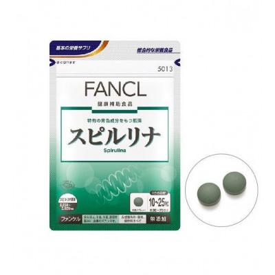 Японская Спирулина в таблетках FANCL