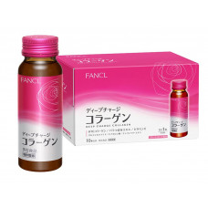 Питьевой коллаген FANCL New Deep Charge Collagen Drink, 10 бутылочек