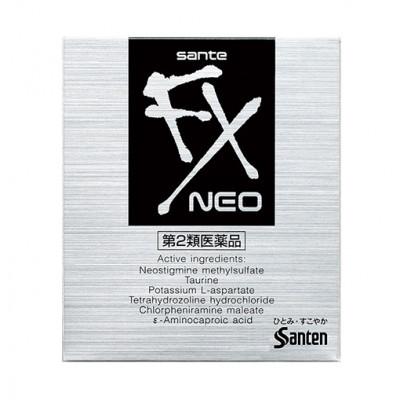 Японские глазные капли Santen FX NEO