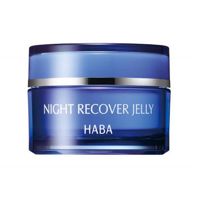 Японский ночной восстанавливающий гель для лица HABA