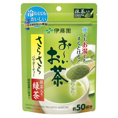 Японский быстрорастворимый порошок чая матча Itoen