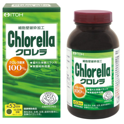 Японская хлорелла в таблетках Itoh