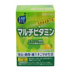 Мультивитамины в гранулах со вкусом грейпфрута Itoh