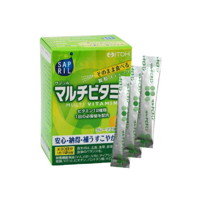Японские мультивитамины в гранулах со вкусом грейпфрута Itoh