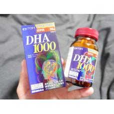 Незаменимая полиненасыщенная жирная кислота DHA 1000 мг Itoh