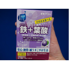 Железо и фолиевая кислота со вкусом чернослива Itoh