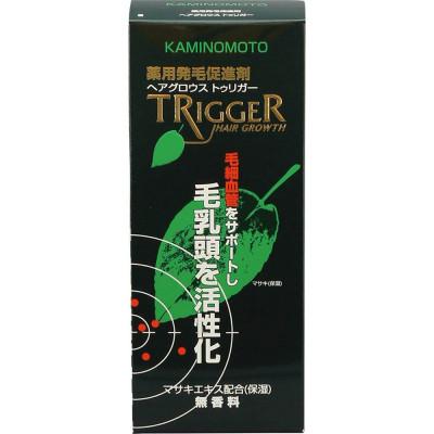 Японский лекарственный лосьон для роста волос Trigger Kaminomoto