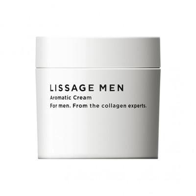 Японский мужской крем для тела Lissage Men Aromatic Cream Kanebo
