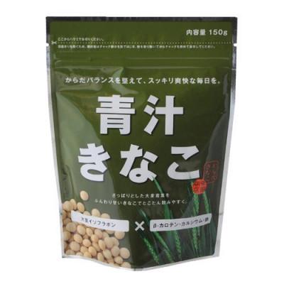 Японский аодзиру с соевой пудрой со вкусом зелёного чая матча Kinako KOUTA SHOUTEN