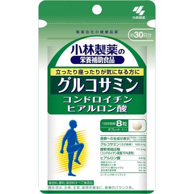 Японский глюкозамин, хондроитин и гиалуроновая кислота Kobayashi