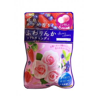 Японские жевательные конфеты красоты Kracie – Mix Berry Rose