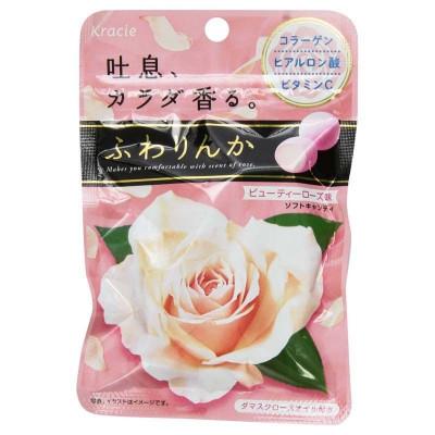 Японские жевательные конфеты красоты Kracie – Beauty Rose