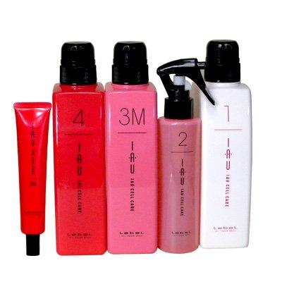 Японский набор счастье для волос Lebel IAU Infinity Aurum Salon Care M для придания волосам гладкости