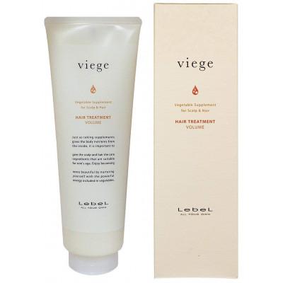 Японская маска для объема волос Viege Lebel Treatment VOLUME