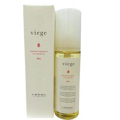 Японское восстанавливающее масло для волос Viege Lebel